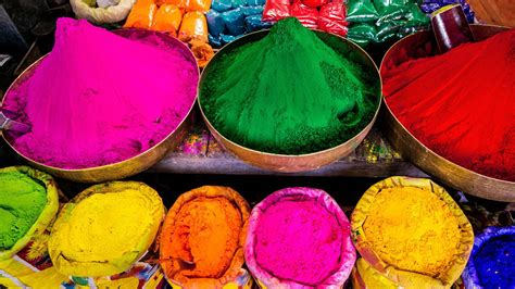 colors of spring holi festival colors of spring