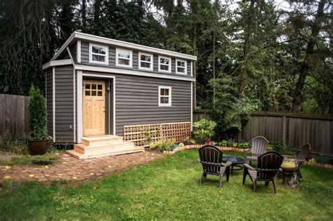small backyard homes seattle tiny house you can rent
