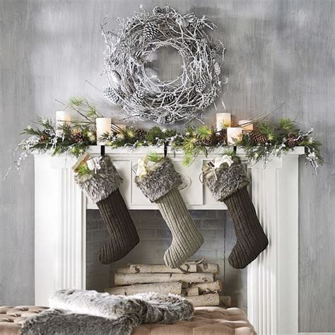70 stylish christmas d 233 cor ideas in grey color and french