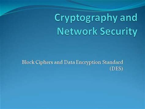 ppt templates for network security cryptography and network security authorstream