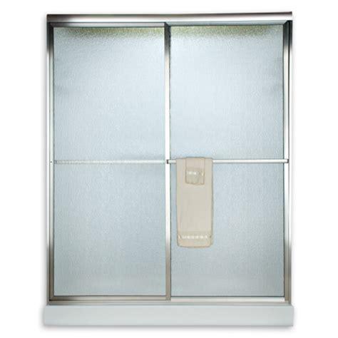 American Standard Am00770 436 Hammered Glass Prestige Euro Hammered Glass Shower Door