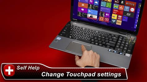 toshiba laptop touchpad double click