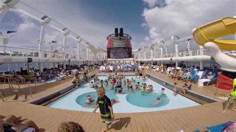 mickey pool view all ship horns disney cruise line