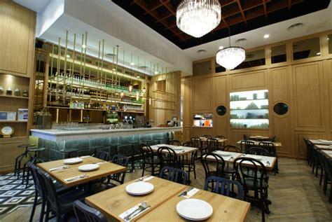 euorpean restaurant design concept restaurant kitchen zaffron kitchen restaurant by jp concept singapore