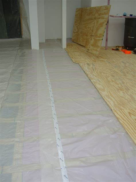 Sealing Plywood Floors by How To Install A Plywood Shop Floor The Wood Whisperer