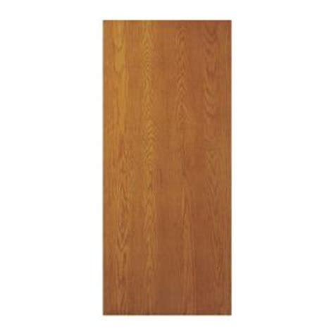 oak interior doors home depot jeld wen 32 in x 80 in oak unfinished flush hardwood