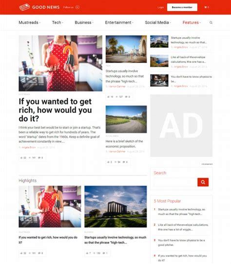 sahifa theme ubermenu 60 best adsense optimized wordpress themes for 2018