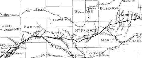 map of oregon trail through kansas messages left on the interactive santa fe trail