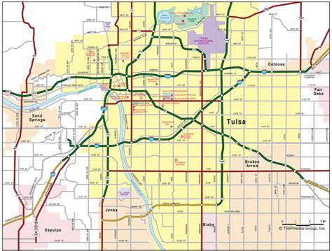 Records Tulsa Ok Oklahoma Road Map
