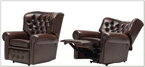 Electric Recliner Chair Leather by Electric Leather Recliner Chair Chairs Home Decorating
