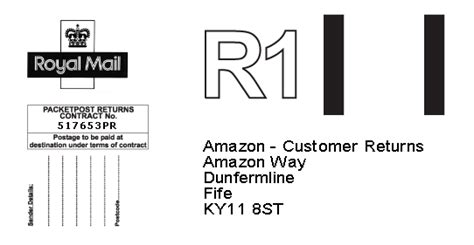 printable return label amazon amazon co uk returns support centre