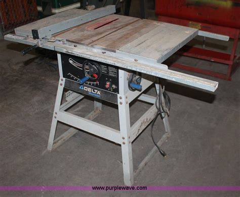 delta shopmaster table saw 905657 delta shopmaster table saw no reserve auction on