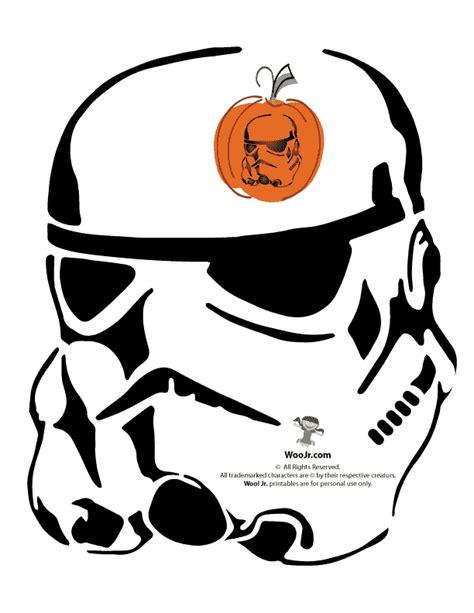 wars pumpkin templates stormtrooper pumpkin pattern woo jr activities