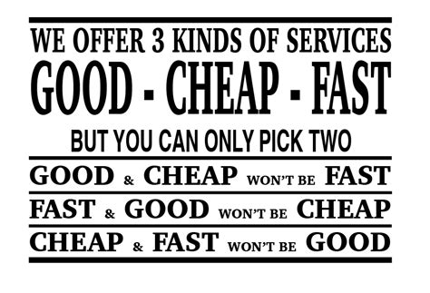 cheap service cheap fast service is there such a thing browne linkenbagh services