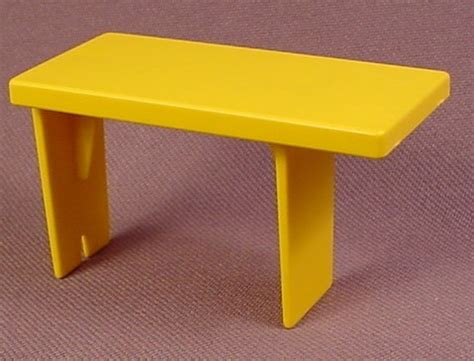yellow boat bench seat playmobil yellow bench seat for the inside of a pirate