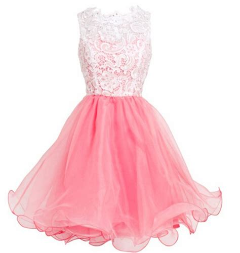 7 Pretty Pink Dresses To Wear On Valentines Day by Pink Lace Tulle Prom Dresses Pink