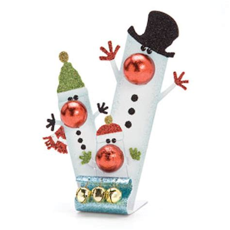 snowman family christmas ornament happy holidayware