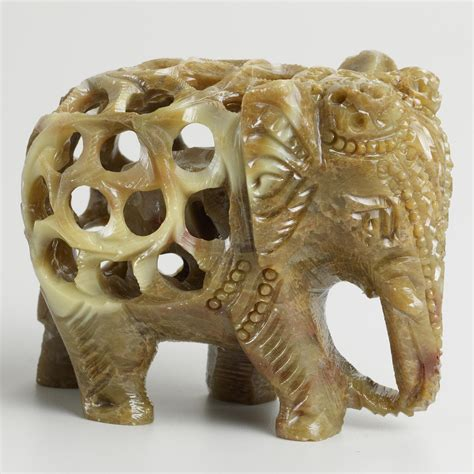 Soapstone Elephant soapstone elephant world market