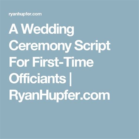 Wedding Officiant Script by Wedding Wedding Ceremony Script And Scripts On