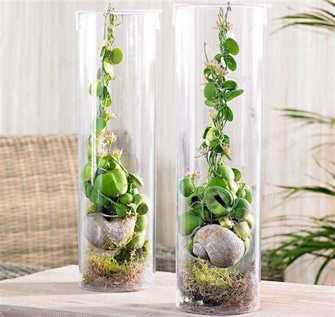 vasi in vetro trasparente arredare casa con i fiori foto 39 40 design mag