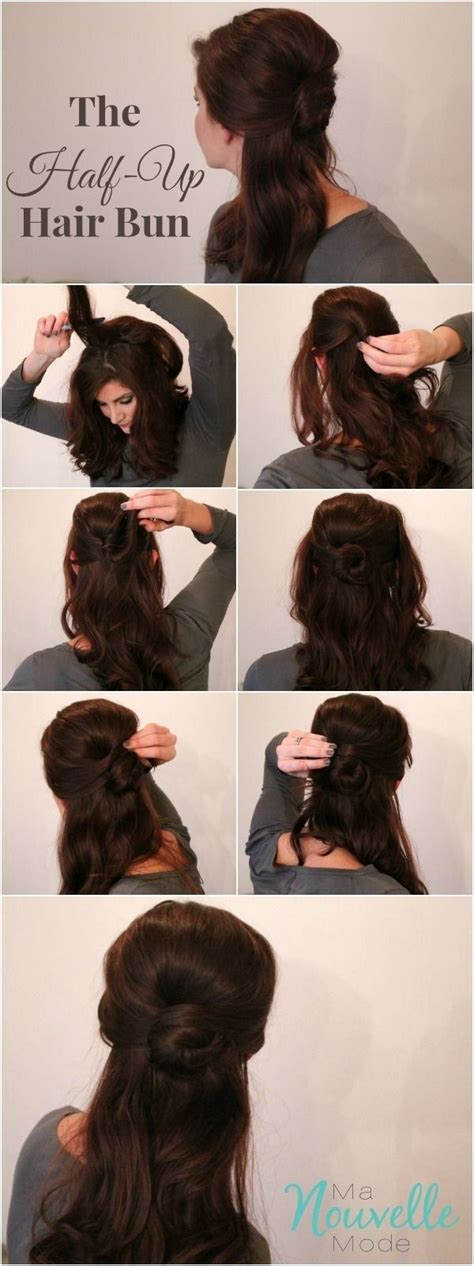 bun hairstyles games belle s elegant half up bun disney belle and disney