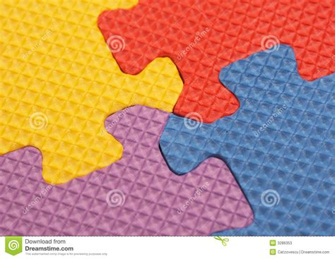 colorful puzzle pieces colorful puzzle pieces stock photos image 3286353