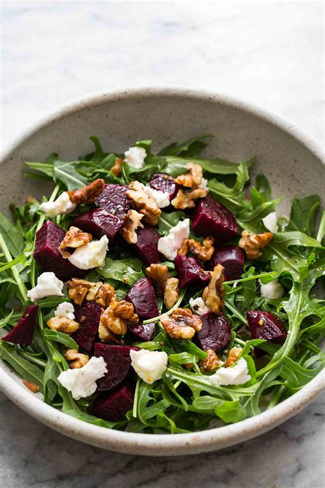 goat cheese salad beet carpaccio with goat cheese and arugula recipe dishmaps