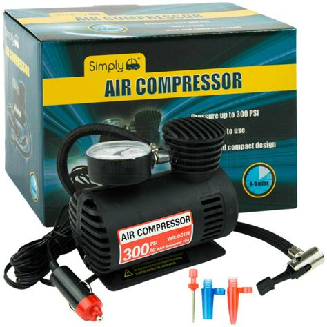12v car electric mini compact compressor bike tyre air inflator 300psi new ebay