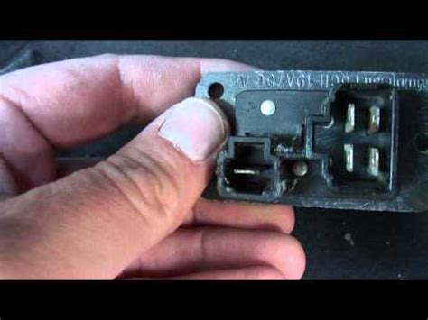zx2 blower motor resistor how to install replace ac heater blower fan motor ford ranger 93 97 1aauto how to make