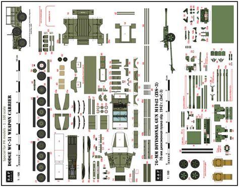 Puzzle 3d Metal Japanese Locomotive D 51 Miniatur Lokomotif Klasik papermau dogde wc 51 weapon carrier zis 3 76 mm gun in