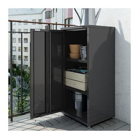 Schrank Outdoor by Josef Cabinet In Outdoor Grey 40x35x86 Cm Ikea