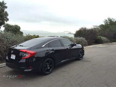 honda civic 2016 black black ex with black wheels 2016 honda civic forum 10th