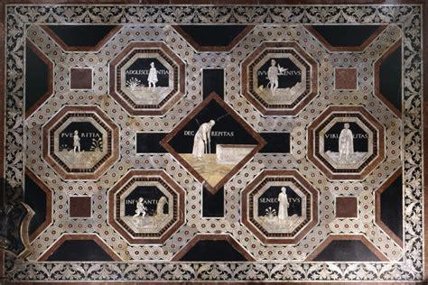 siena pavimento duomo intarsi di sensi a siena erodoto108