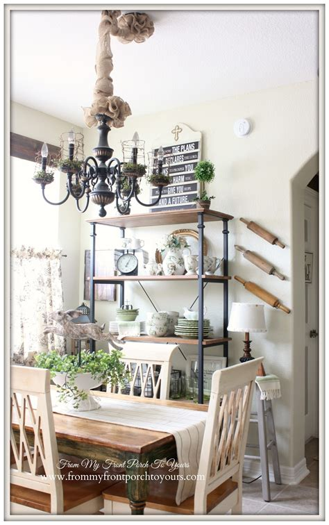 French Country Dining Room From My Front Porch To Yours French Farmhouse Spring