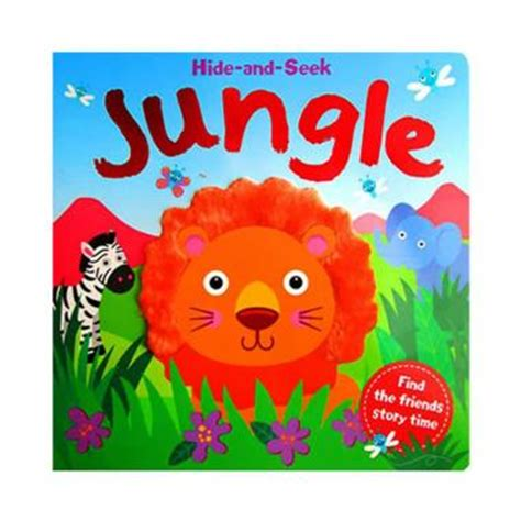 In The Jungle Sound Boardbook With Touch And Feel jual hide and seek jungle board book with touch feel