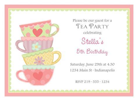 kitchen tea party invitation ideas unique bridal shower invitations
