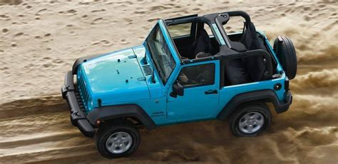 Jeep Wrangler Trims Forge Your Own Path In The 2017 Jeep Wrangler