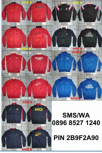 Jersey Bolak Balik 3x3 Hitam Merah jual jersey jaket sweater sepatu grade ori 2b9f2a90