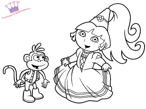 coloring pages and princess princess coloring pages