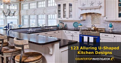 Extra Long Kitchen Island 123 breathtaking u shaped kitchen designs