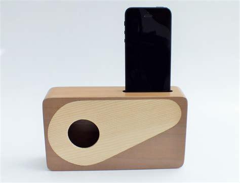 Handmade Speakers - handmade walnut wood iphone acoustic speaker box