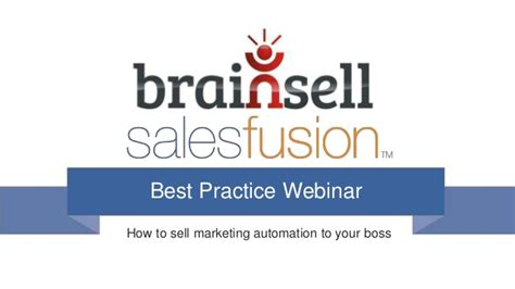 how to sell marketing automation to your