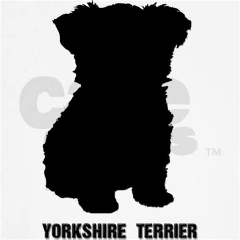 yorkie silhouette yorkie silhouette yorkie puppy