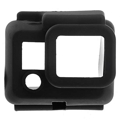 Termurah Soft Rubber Silicone For Gopro Hd 3 silicone protective cover skin for gopro 3