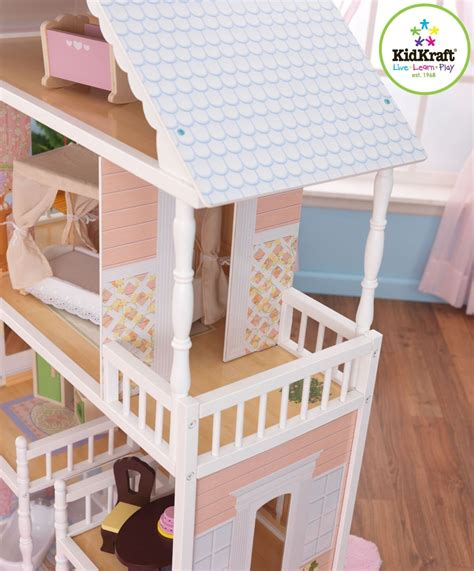 savannah dolls house kidkraft savannah dollhouse girls play wood play doll house 65023 ebay