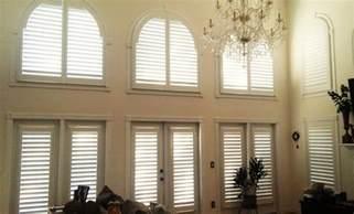 Window Treatments For High Windows - window treatments for high ceiling windows in orlando sunburst shutters orlando