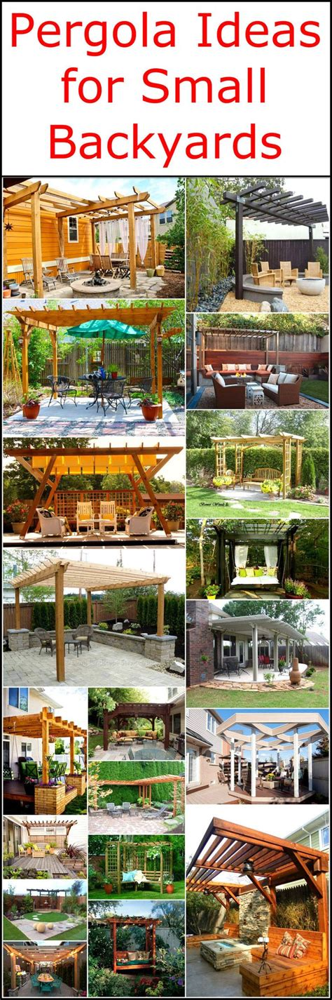 Pergola Ideas For Small Backyards Best 25 Pergola Garden Ideas On Pinterest Pergula Ideas Pergola Patio And Outdoor Pergola