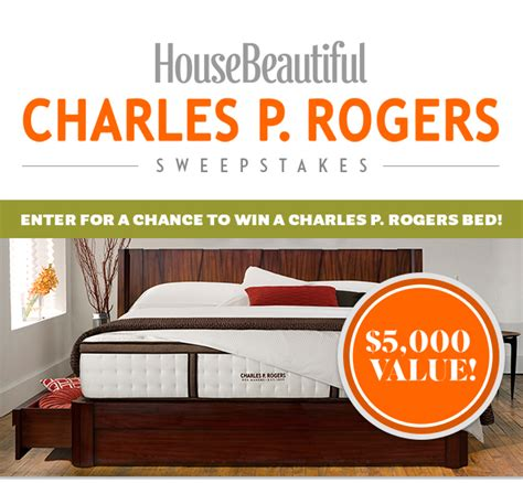 House Beautiful Magazine Sweepstakes - charles p rogers sweepstakes