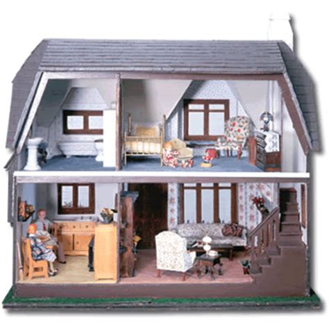 green leaf doll houses glencroft dollhouse kit