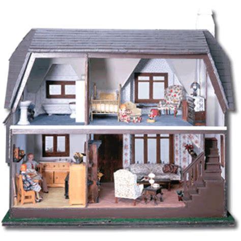 green leaf doll house glencroft dollhouse kit